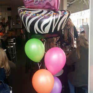ballonnensetje met folie ballon