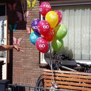 helium tros bedrukt
