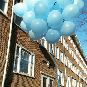 losse helium balloonnen