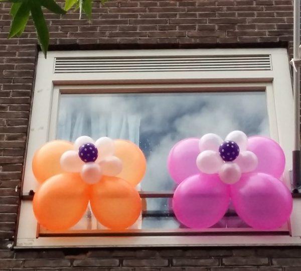neon ballonnen bloemen 3