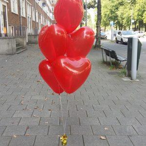 trosje helium hartjes